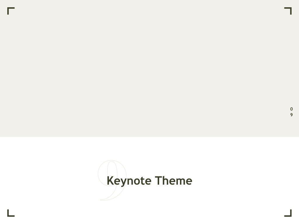Exhibit Keynote Template, Slide 10, 04918, Presentation Templates — PoweredTemplate.com