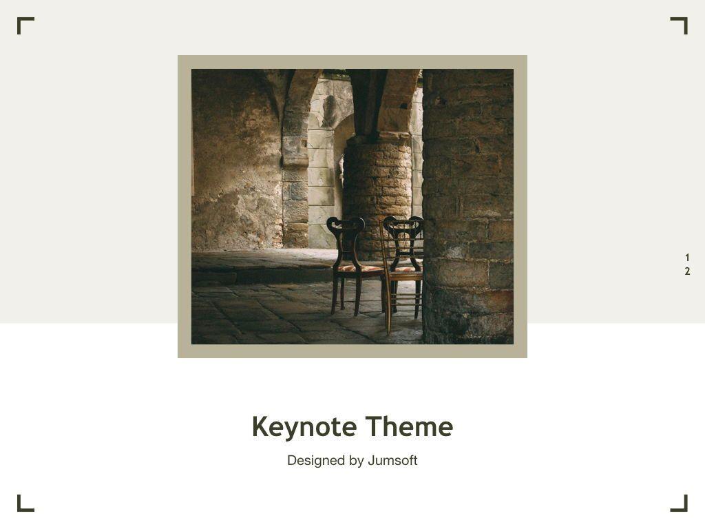 Exhibit Keynote Template, Slide 13, 04918, Presentation Templates — PoweredTemplate.com
