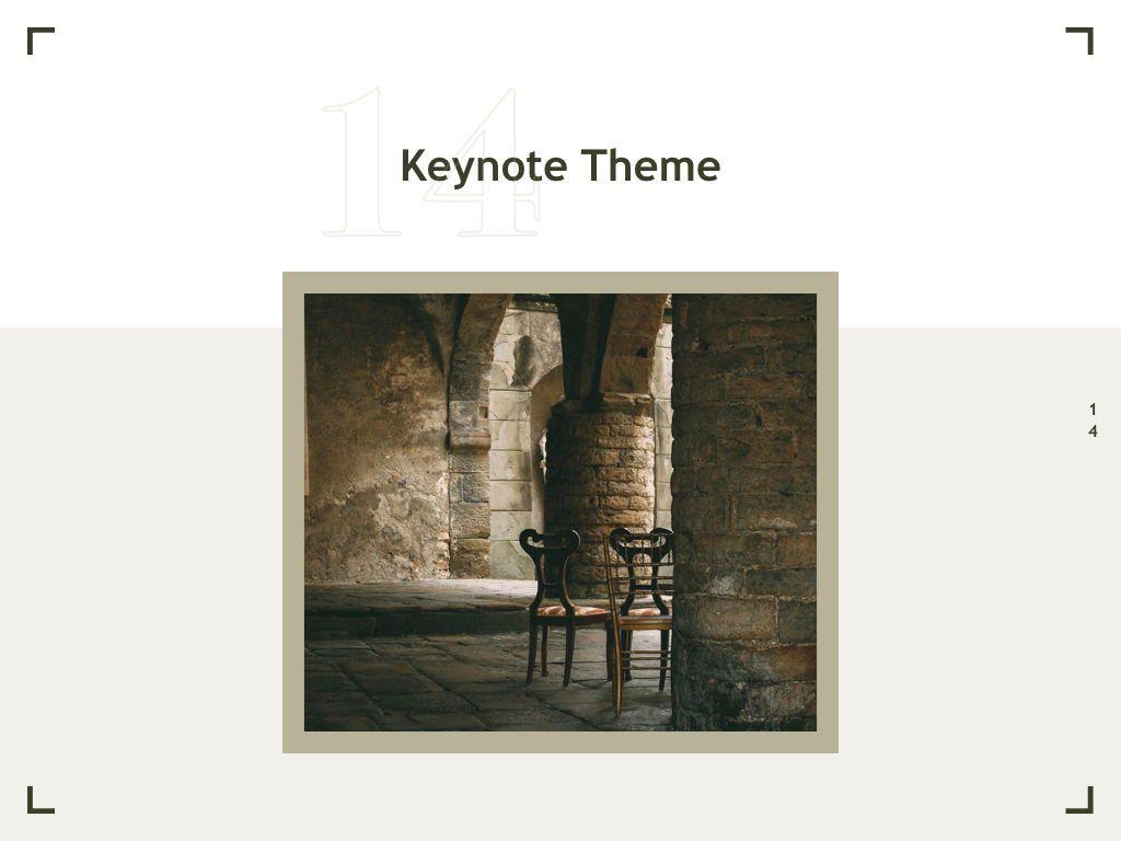 Exhibit Keynote Template, Slide 15, 04918, Presentation Templates — PoweredTemplate.com