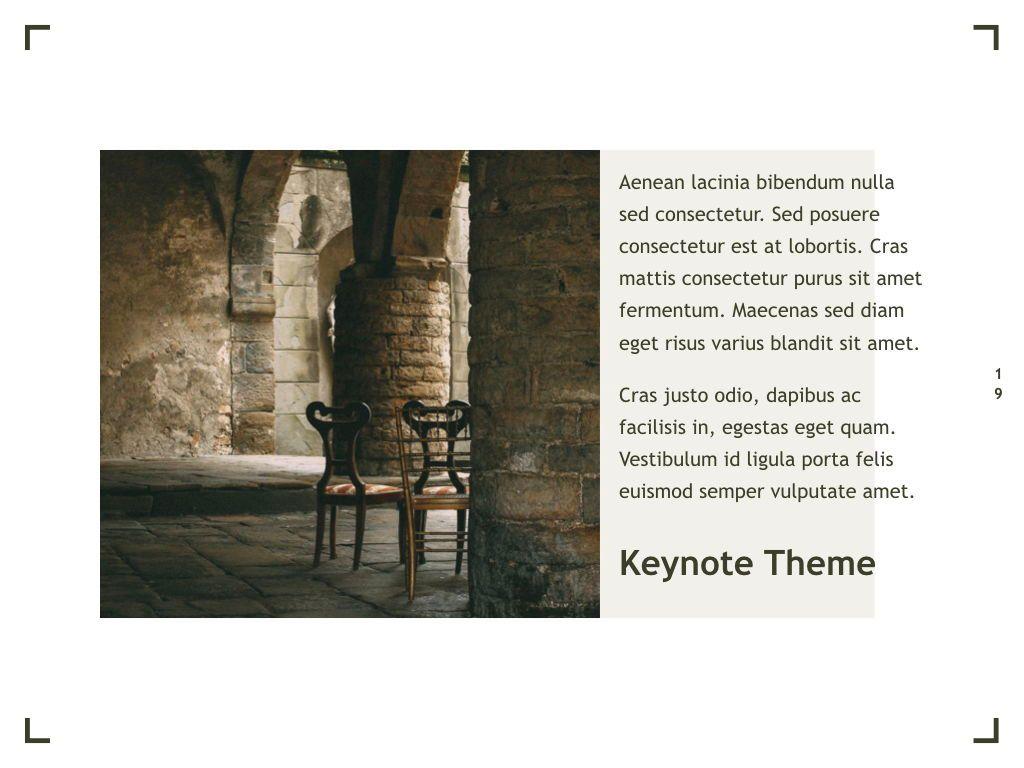 Exhibit Keynote Template, Slide 20, 04918, Presentation Templates — PoweredTemplate.com