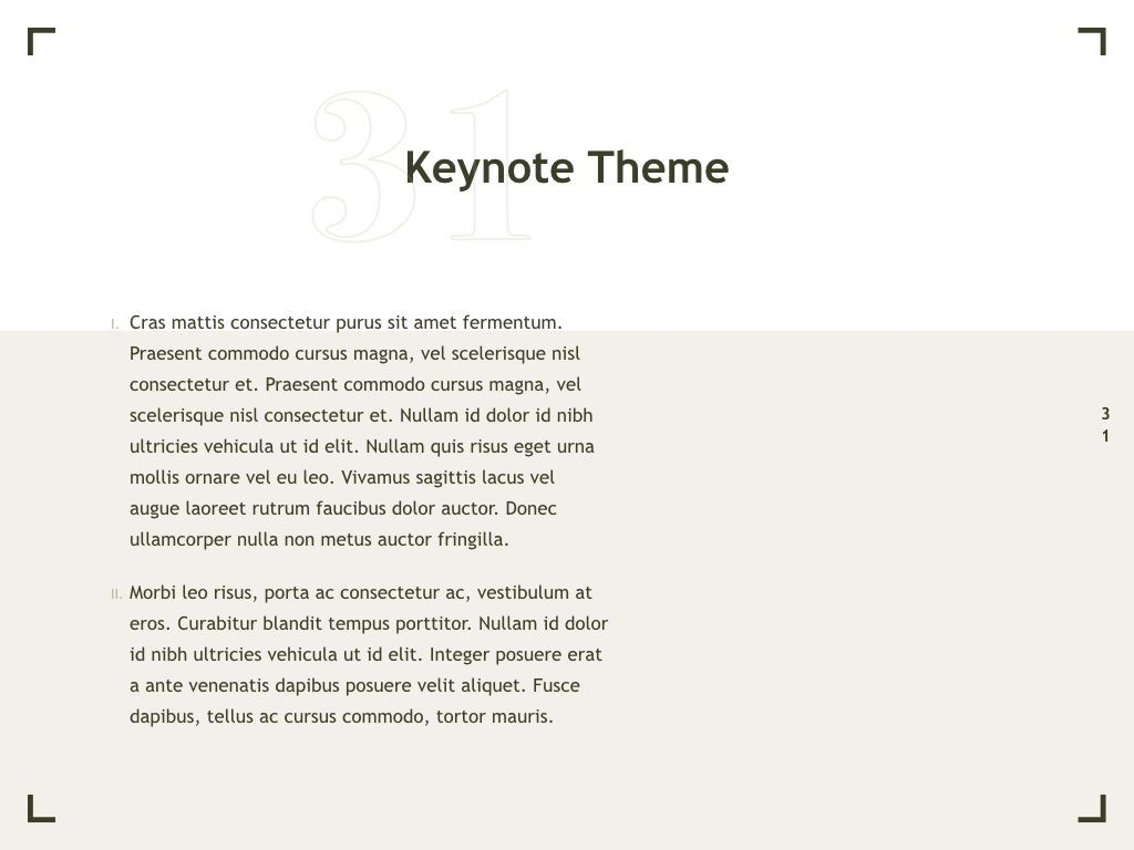 Exhibit Keynote Template, Slide 32, 04918, Presentation Templates — PoweredTemplate.com