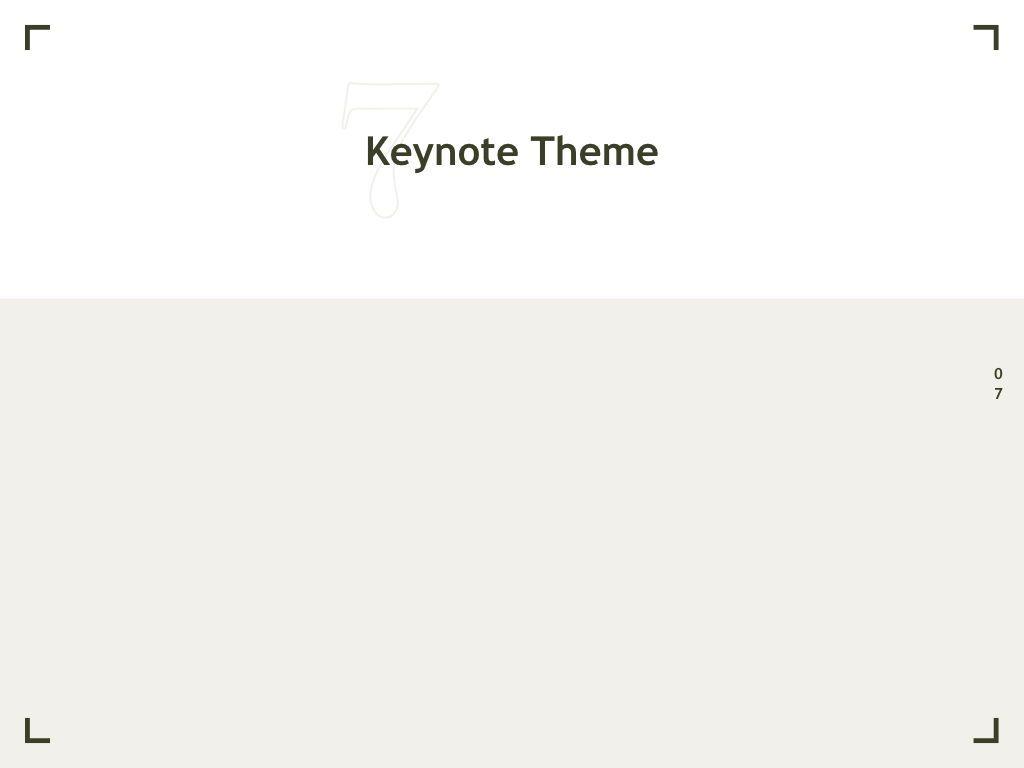 Exhibit Keynote Template, Slide 8, 04918, Presentation Templates — PoweredTemplate.com