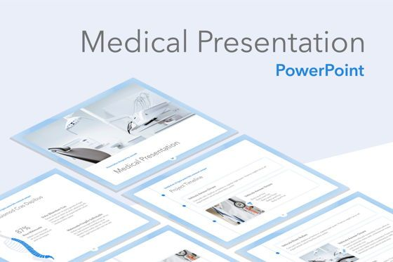 Medical Diagrams and Charts: Medicinal PowerPoint Template #04928