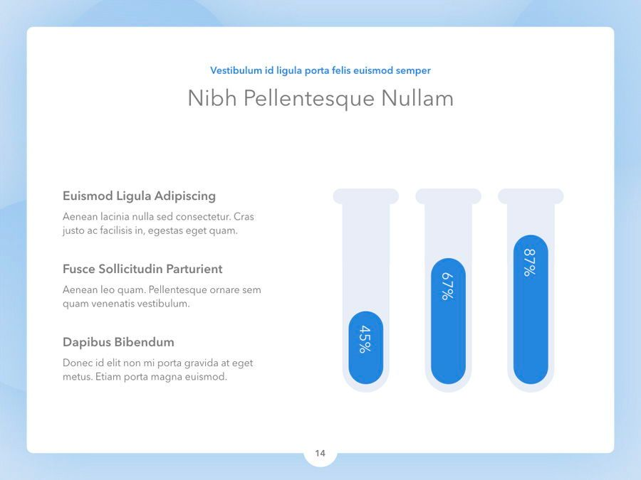 Medicinal PowerPoint Template, Slide 15, 04928, Medical Diagrams and Charts — PoweredTemplate.com