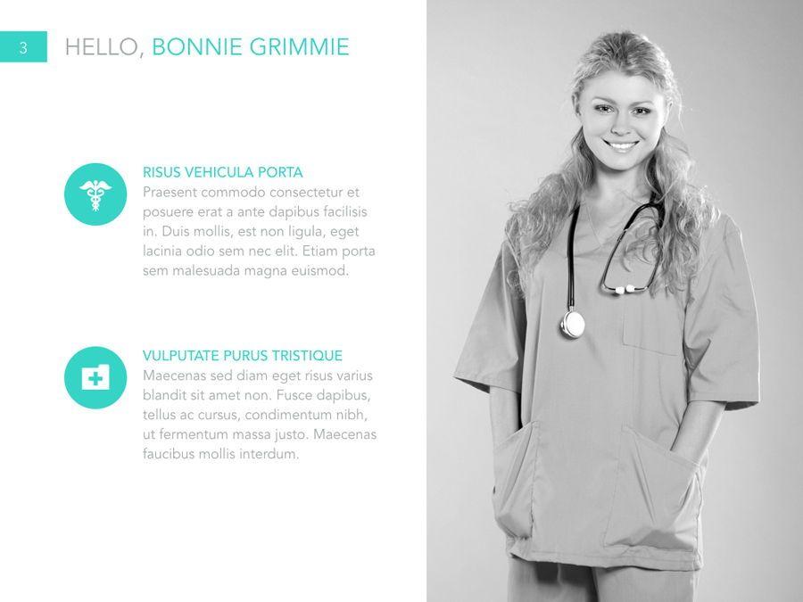 Primary Care Keynote Template, Slide 4, 04932, Presentation Templates — PoweredTemplate.com