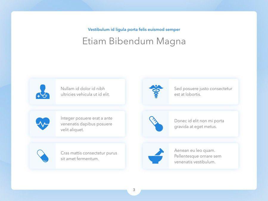 Medicinal Keynote Template, Slide 4, 04936, Medical Diagrams and Charts — PoweredTemplate.com