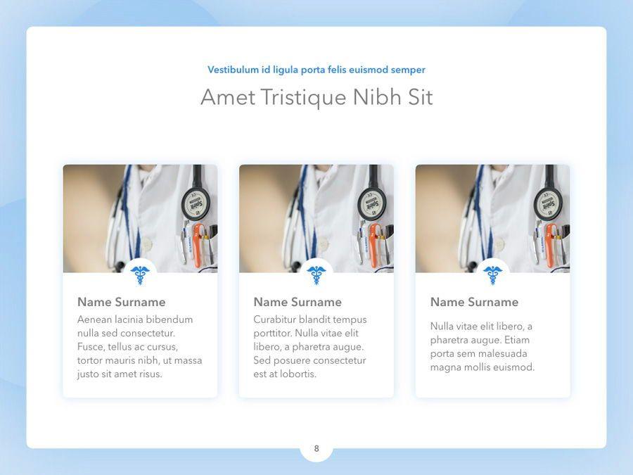 Medicinal Keynote Template, Slide 9, 04936, Medical Diagrams and Charts — PoweredTemplate.com