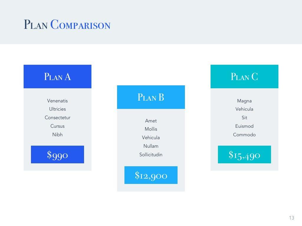 Pitch Deck Google Slides Template, Slide 14, 04937, Presentation Templates — PoweredTemplate.com