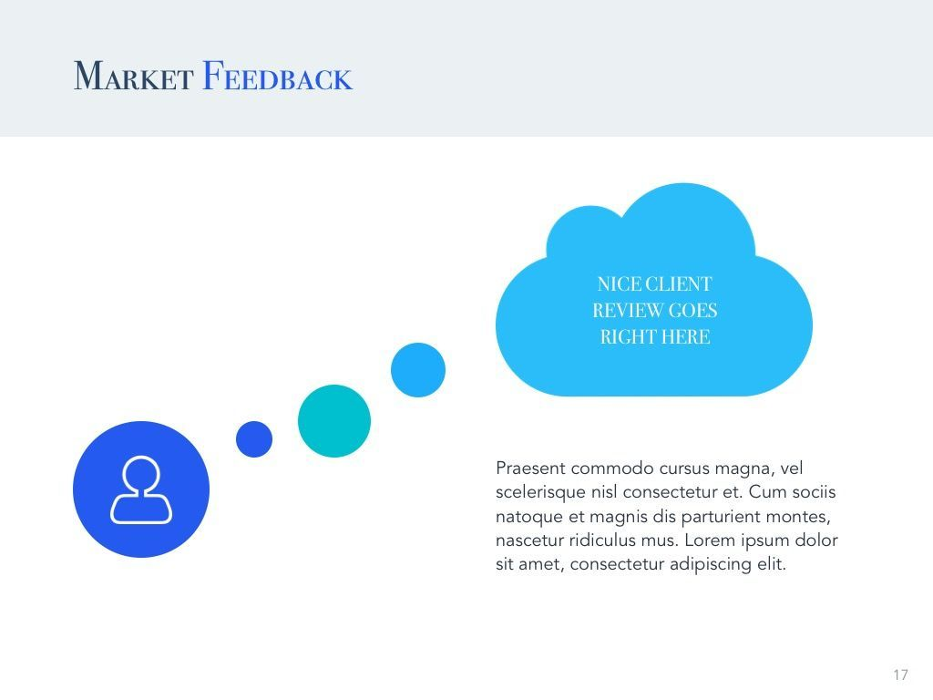 Pitch Deck Google Slides Template, Slide 18, 04937, Presentation Templates — PoweredTemplate.com