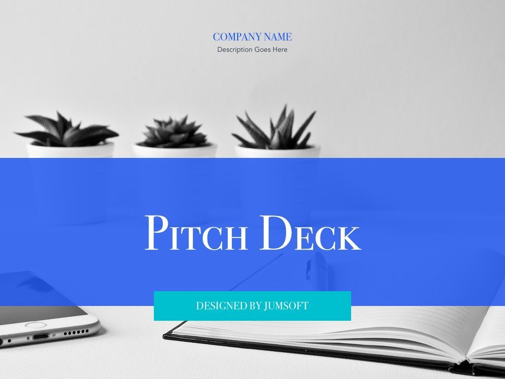 Pitch Deck Google Slides Template, Slide 2, 04937, Presentation Templates — PoweredTemplate.com