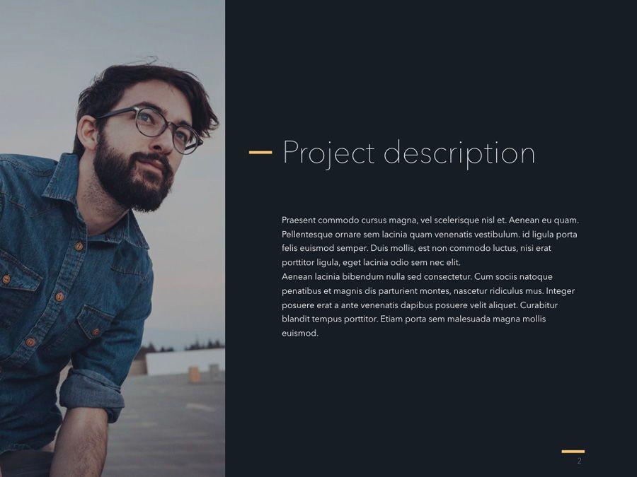 Project Status PowerPoint Template, Slide 3, 04938, Presentation Templates — PoweredTemplate.com