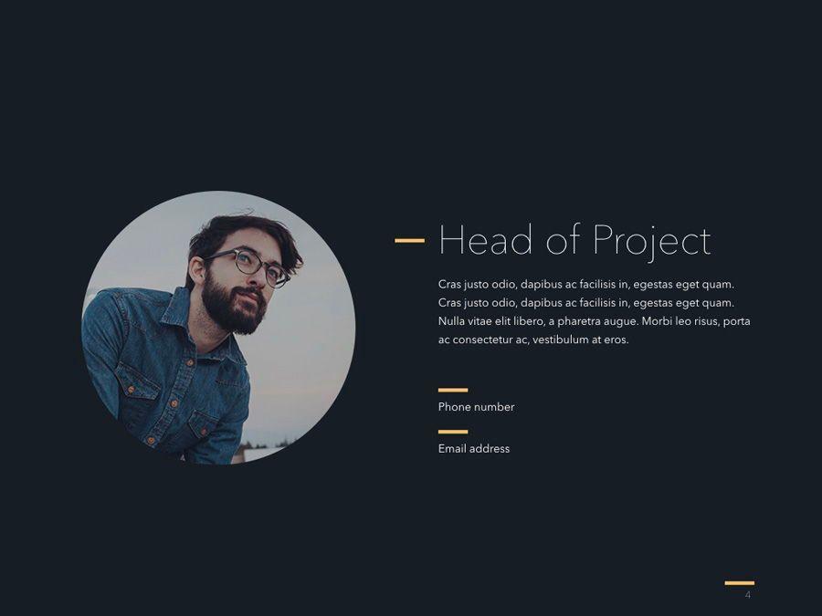 Project Status PowerPoint Template, Slide 5, 04938, Presentation Templates — PoweredTemplate.com