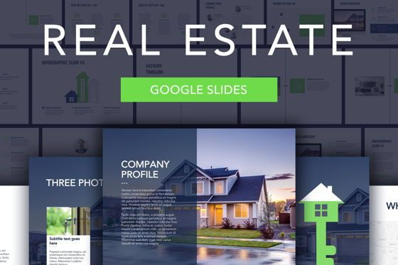 Presentation Templates: Real Estate Google Slides Template #04939