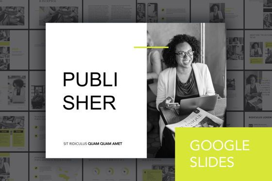 Presentation Templates: Publisher Google Slides Template #04940