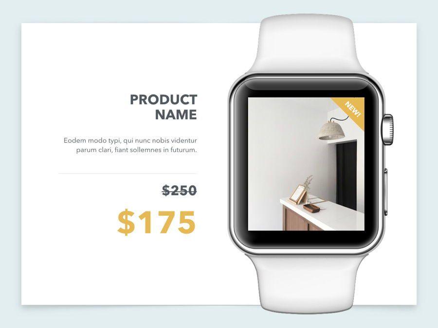 Minimal Sale PowerPoint Template, Slide 15, 04942, Presentation Templates — PoweredTemplate.com