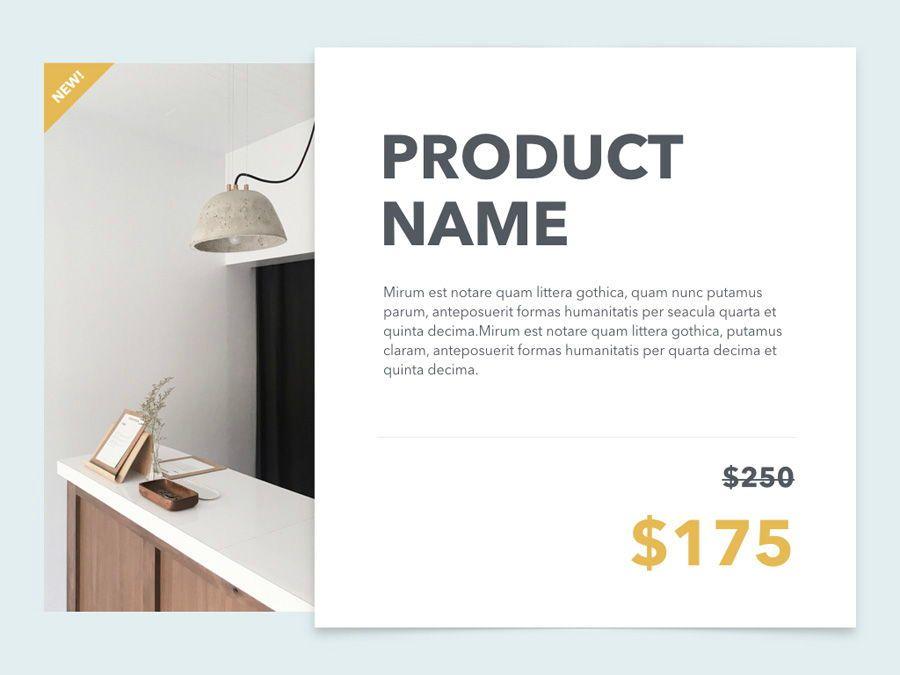 Minimal Sale PowerPoint Template, Slide 19, 04942, Presentation Templates — PoweredTemplate.com