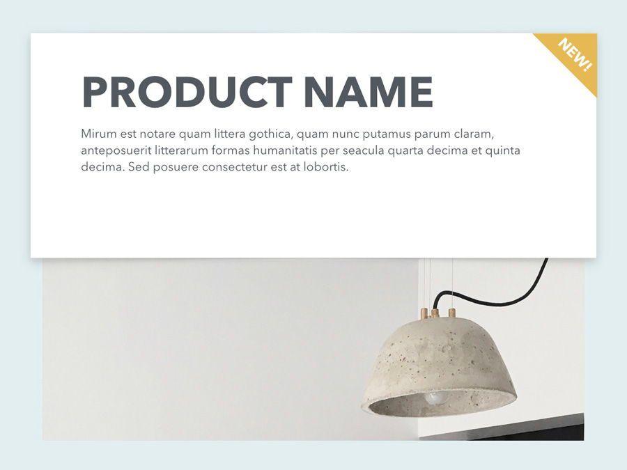 Minimal Sale PowerPoint Template, Slide 3, 04942, Presentation Templates — PoweredTemplate.com