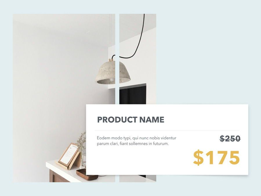 Minimal Sale PowerPoint Template, Slide 9, 04942, Presentation Templates — PoweredTemplate.com