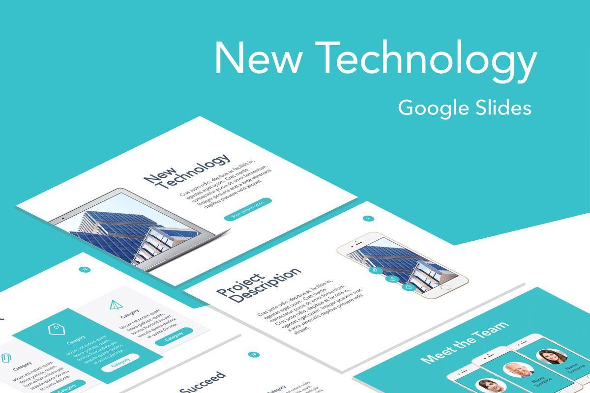 New Technology Google Slides Template, 04944, Presentation Templates — PoweredTemplate.com