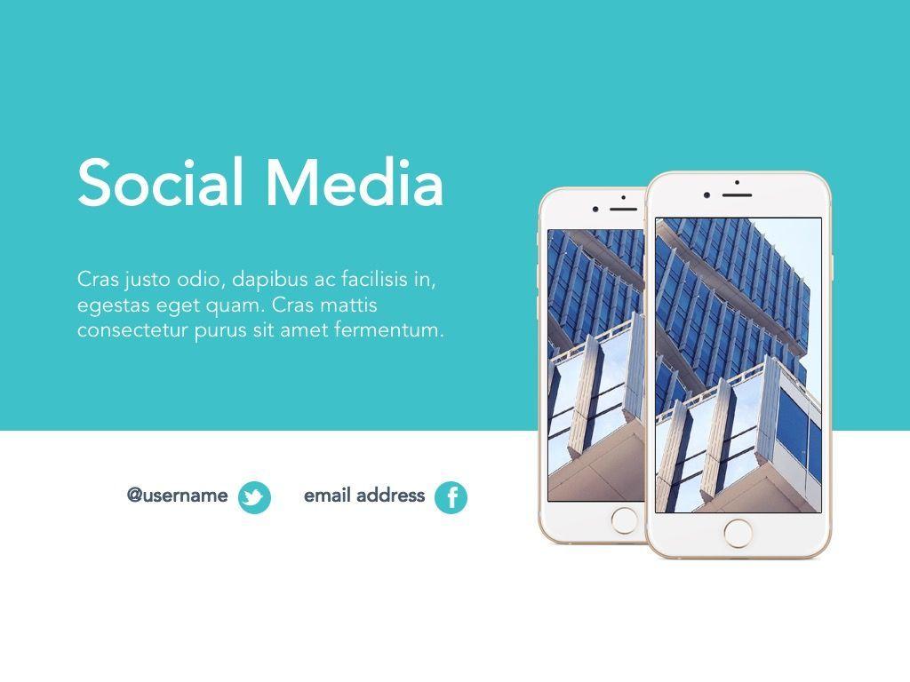 New Technology Google Slides Template, Slide 11, 04944, Presentation Templates — PoweredTemplate.com