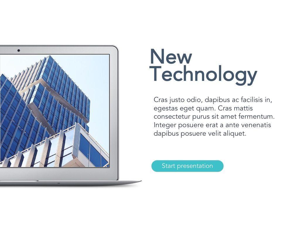 New Technology Google Slides Template, Slide 2, 04944, Presentation Templates — PoweredTemplate.com