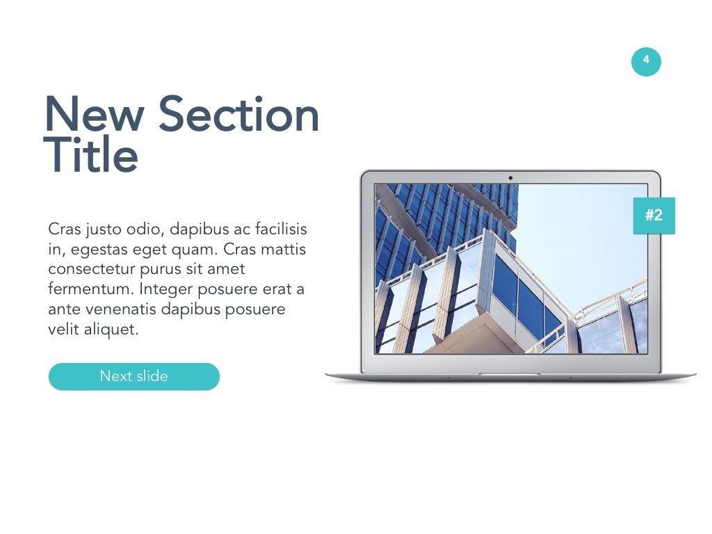 New Technology Google Slides Template, Slide 5, 04944, Presentation Templates — PoweredTemplate.com