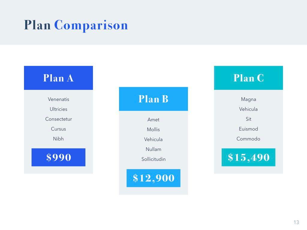 Pitch Deck Keynote Template, Slide 14, 04946, Presentation Templates — PoweredTemplate.com