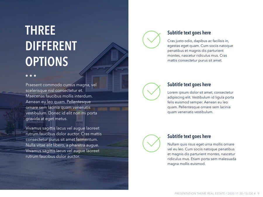 Real Estate PowerPoint Template, Slide 10, 04956, Presentation Templates — PoweredTemplate.com