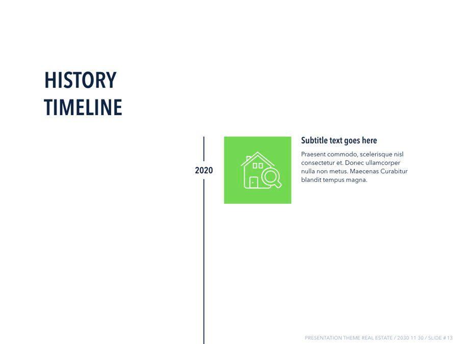 Real Estate PowerPoint Template, Slide 14, 04956, Presentation Templates — PoweredTemplate.com