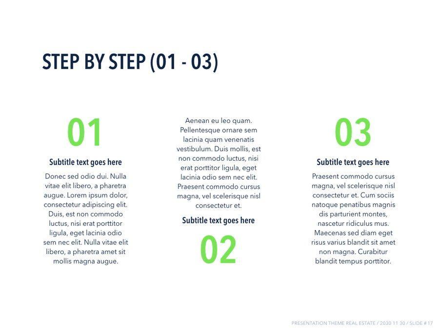Real Estate PowerPoint Template, Slide 18, 04956, Presentation Templates — PoweredTemplate.com