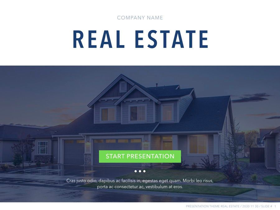 Real Estate PowerPoint Template, Slide 2, 04956, Presentation Templates — PoweredTemplate.com