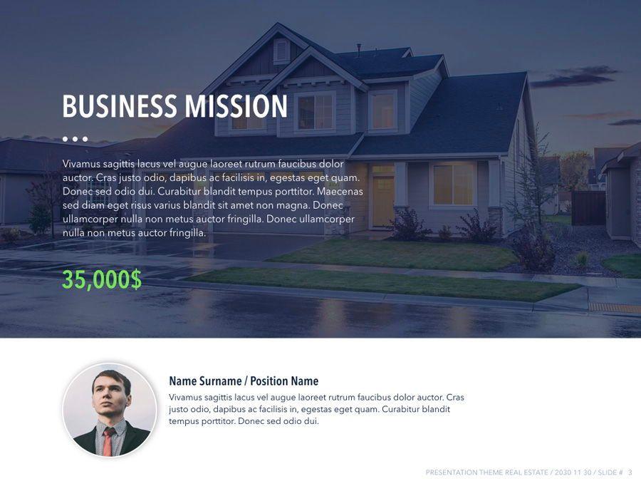 Real Estate PowerPoint Template, Slide 4, 04956, Presentation Templates — PoweredTemplate.com