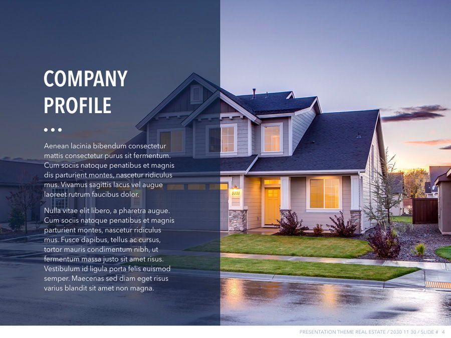 Real Estate PowerPoint Template, Slide 5, 04956, Presentation Templates — PoweredTemplate.com
