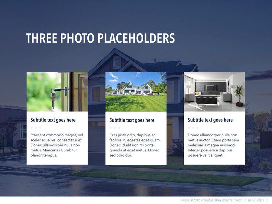 Real Estate PowerPoint Template, Slide 6, 04956, Presentation Templates — PoweredTemplate.com