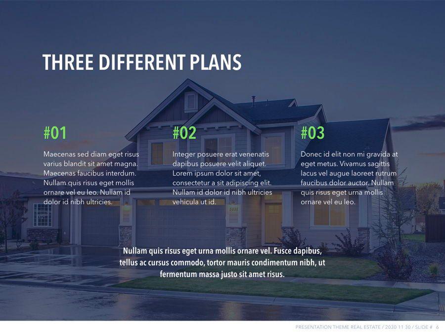 Real Estate PowerPoint Template, Slide 7, 04956, Presentation Templates — PoweredTemplate.com