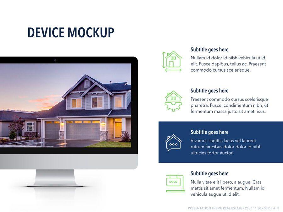 Real Estate PowerPoint Template, Slide 9, 04956, Presentation Templates — PoweredTemplate.com