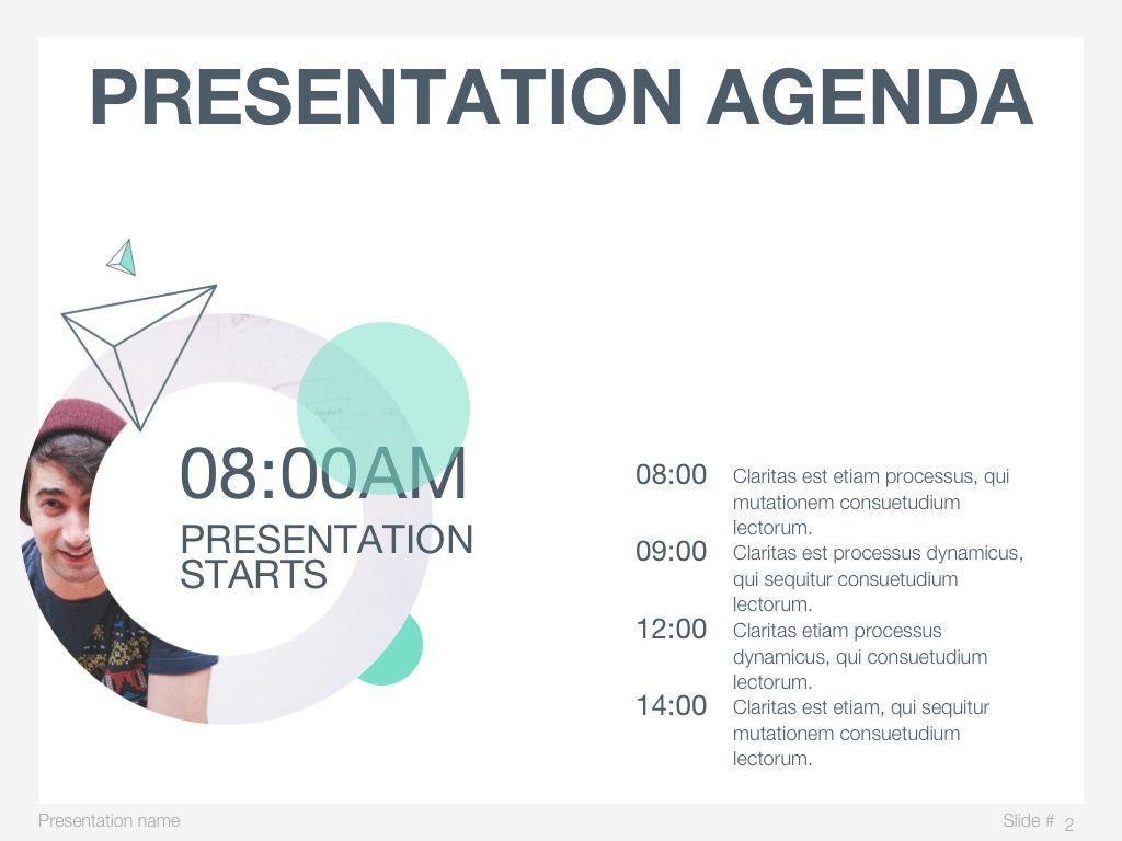 Mint Polygons Google Slides, Slide 3, 04957, Presentation Templates — PoweredTemplate.com