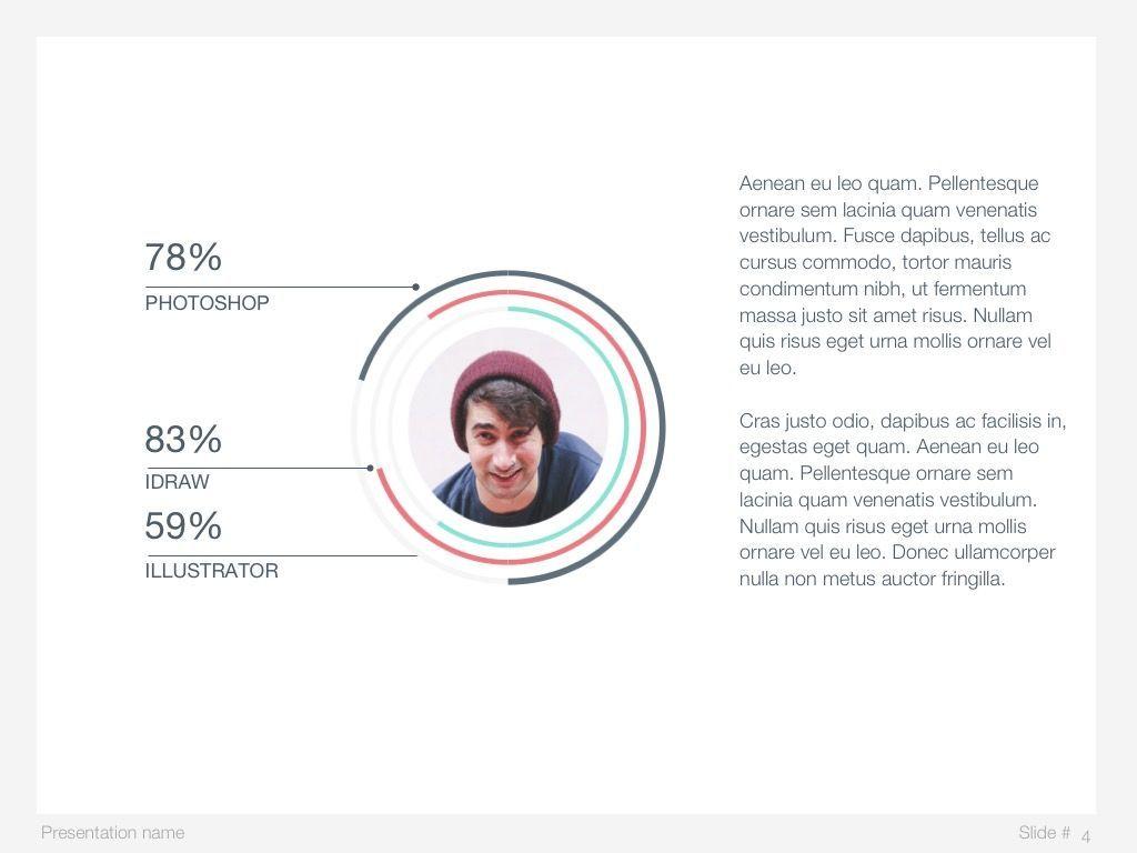 Mint Polygons Google Slides, Slide 5, 04957, Presentation Templates — PoweredTemplate.com