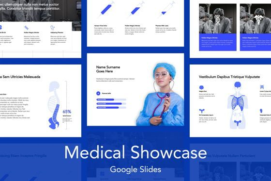 Presentation Templates: Medical Showcase Google Slides #04958