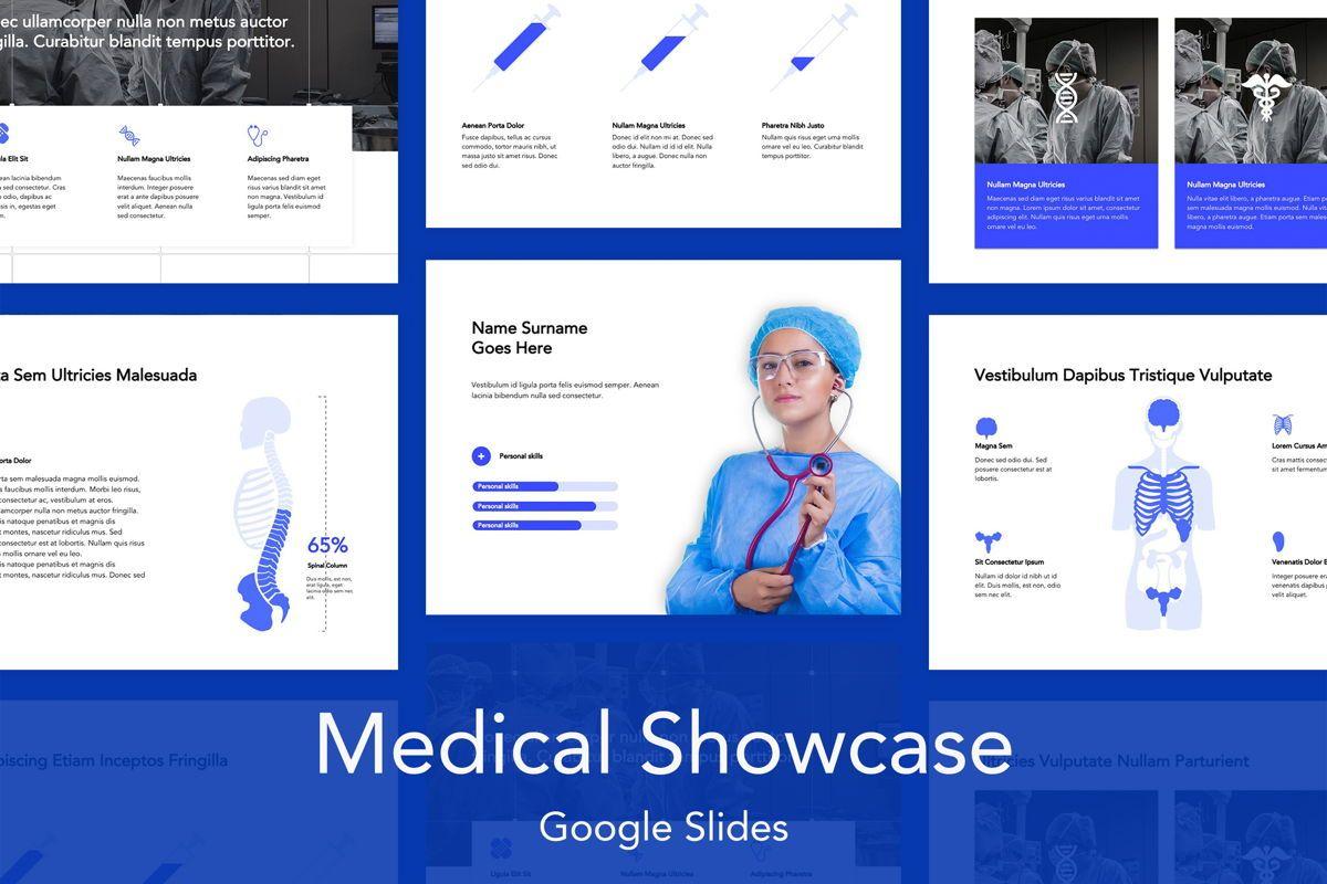 Medical Showcase Google Slides, 04958, Presentation Templates — PoweredTemplate.com