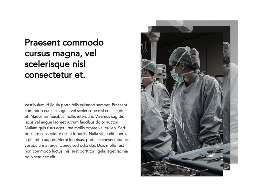 Medical Showcase Google Slides, Slide 4, 04958, Presentation Templates — PoweredTemplate.com