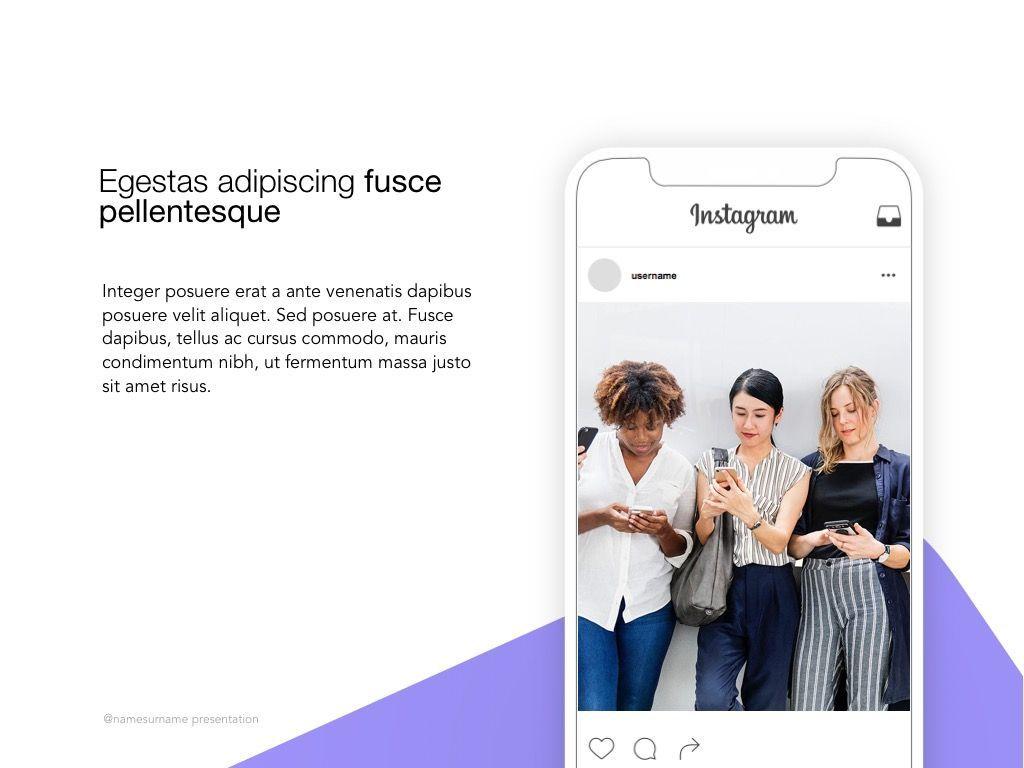 Influencer Marketing Google Slides Theme, Slide 18, 04959, Presentation Templates — PoweredTemplate.com