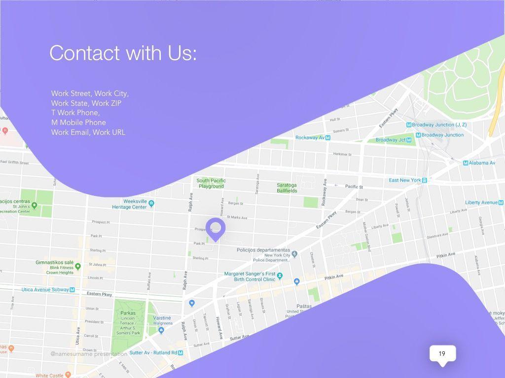 Influencer Marketing Google Slides Theme, Slide 20, 04959, Presentation Templates — PoweredTemplate.com
