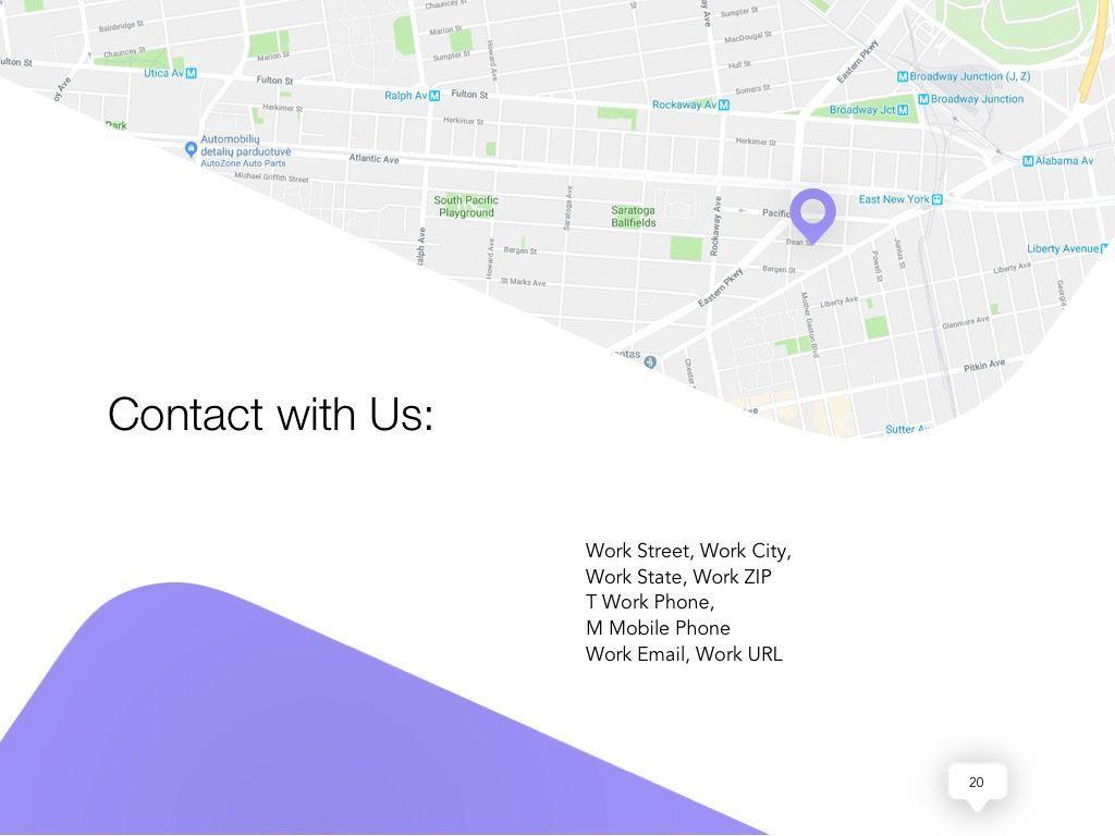 Influencer Marketing Google Slides Theme, Slide 21, 04959, Presentation Templates — PoweredTemplate.com