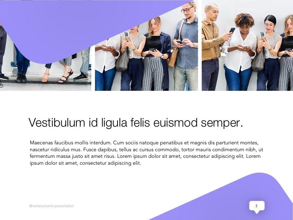 Influencer Marketing Google Slides Theme, Slide 4, 04959, Presentation Templates — PoweredTemplate.com