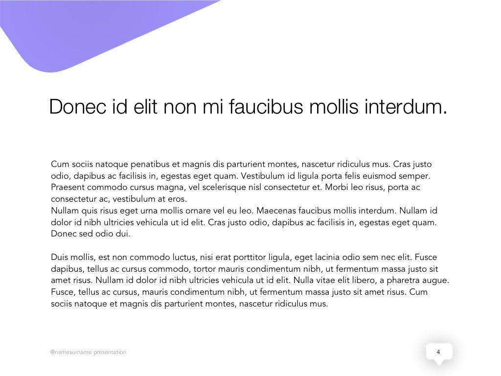 Influencer Marketing Google Slides Theme, Slide 5, 04959, Presentation Templates — PoweredTemplate.com