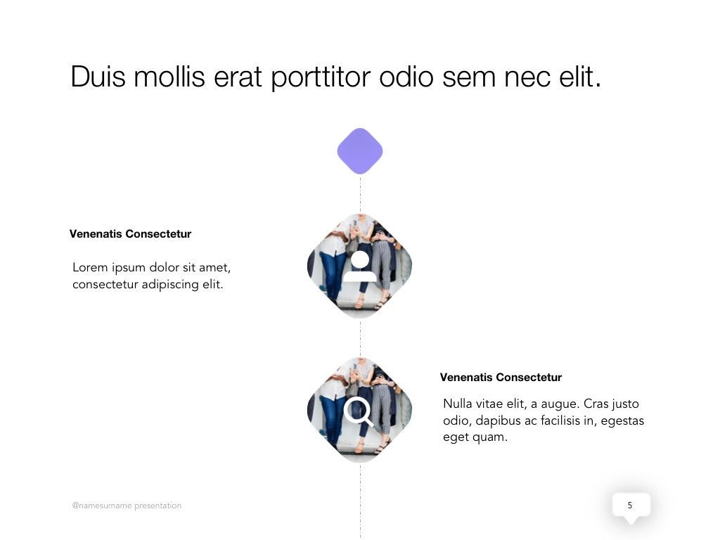 Influencer Marketing Google Slides Theme, Slide 6, 04959, Presentation Templates — PoweredTemplate.com