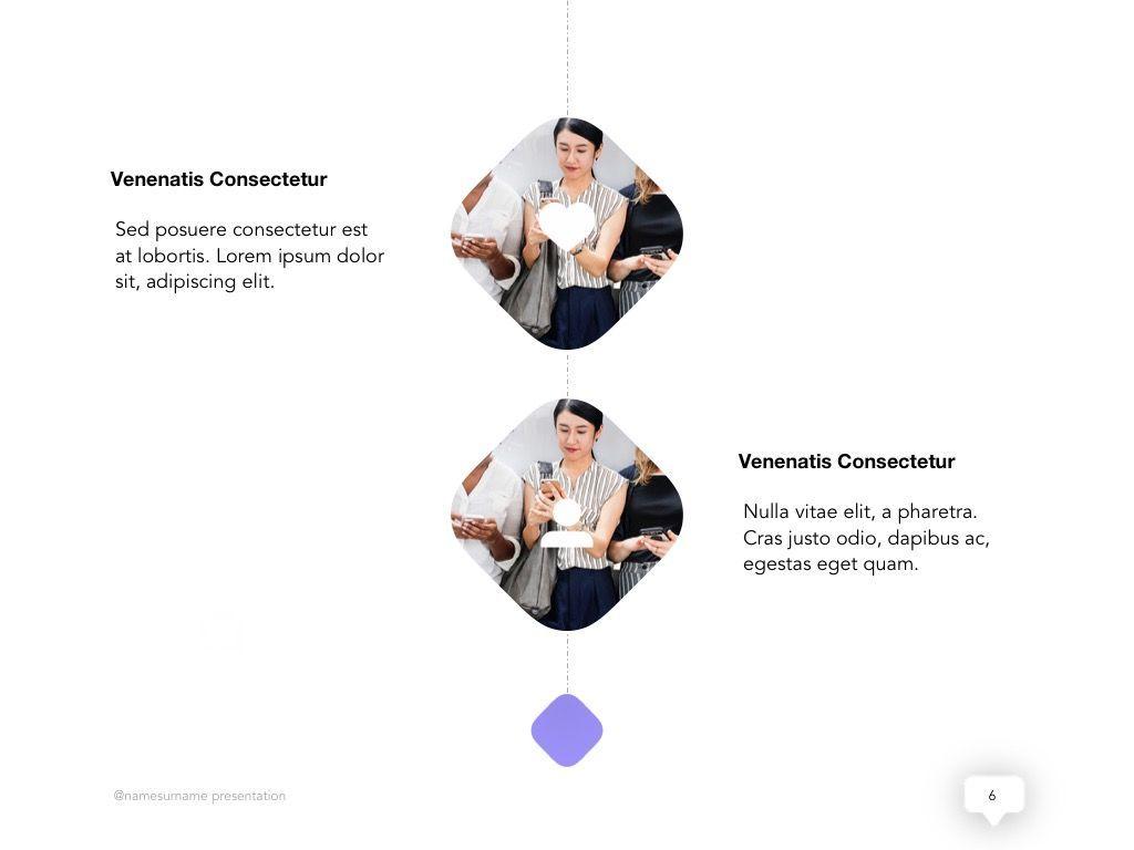 Influencer Marketing Google Slides Theme, Slide 7, 04959, Presentation Templates — PoweredTemplate.com