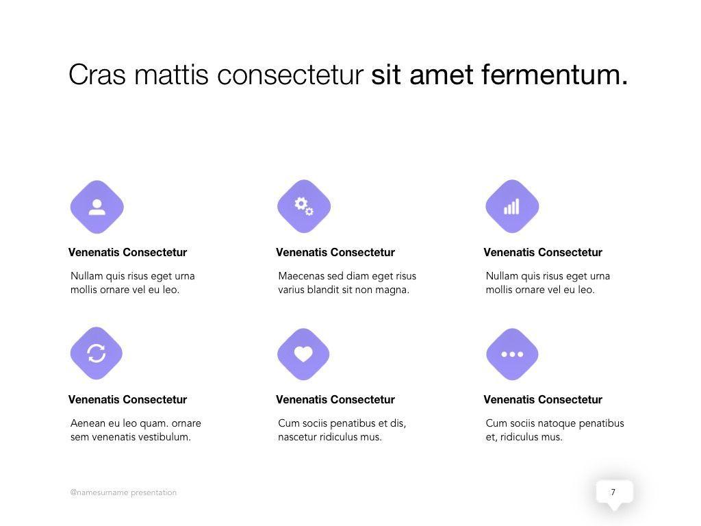 Influencer Marketing Google Slides Theme, Slide 8, 04959, Presentation Templates — PoweredTemplate.com