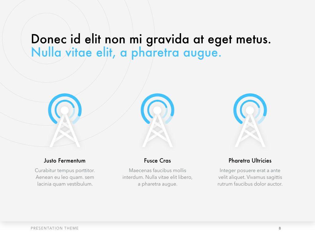 Tech Evangelist PowerPoint Template, Slide 9, 04962, Presentation Templates — PoweredTemplate.com